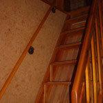 Treppe vom EG zum Wohnzimmer im OG